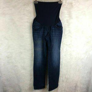 🌈Indigo Blue Petite Maternity Jean Skinny Stretch